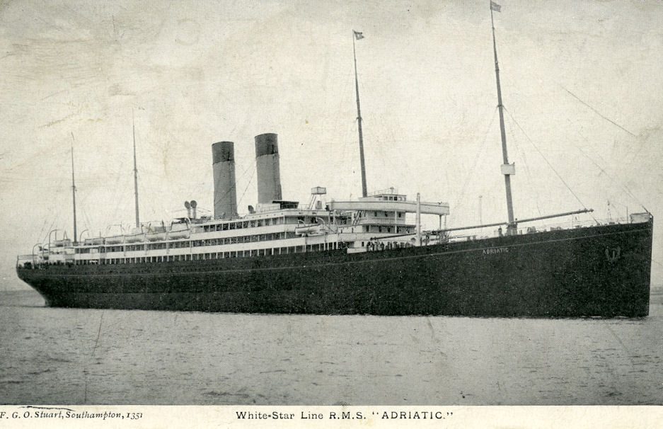 Image of ss Adriatic (White Star Line)