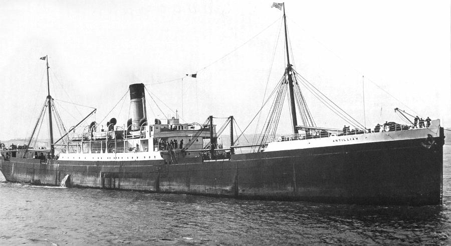 Image of ss Antillian (Leyland Line)