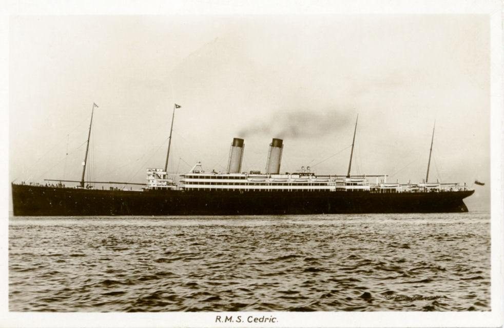 Image of ss Cedric (White Star Line)
