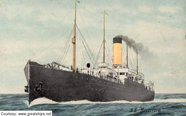 Image of ss Haverford (Dominion Line)