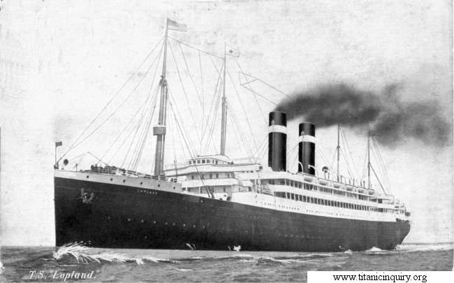 Image of ss Lapland (Red Star Line)