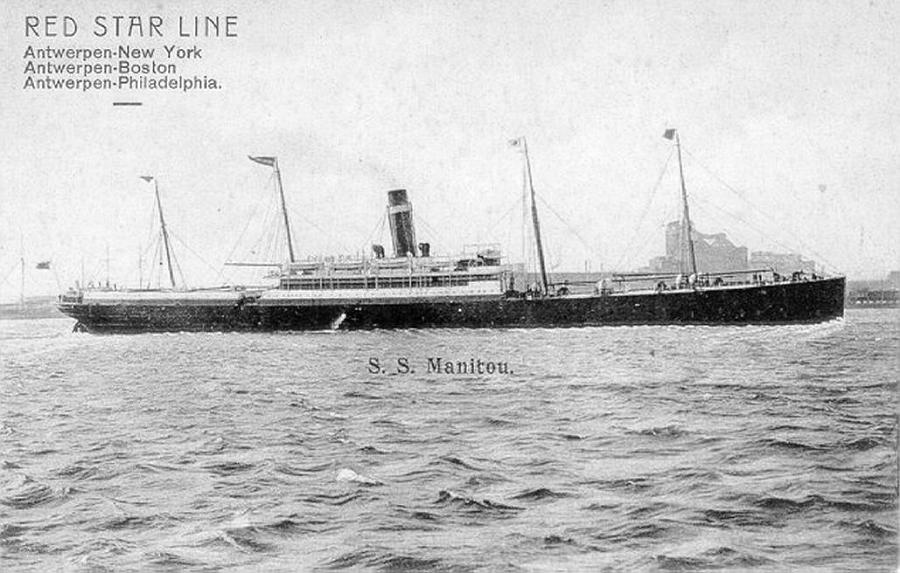 Image of ss Manitou (Red Star Line)