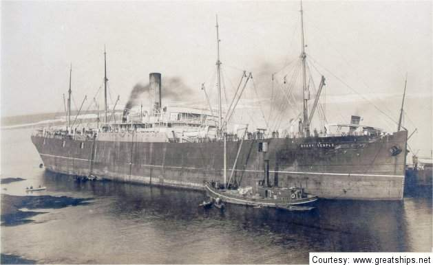 Image of ss Mount Temple (Canadian Pacific Steamship Company)