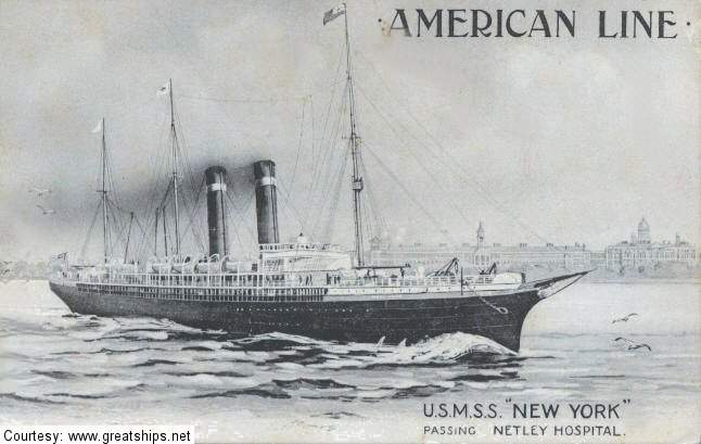 Image of ss New York (American Line)