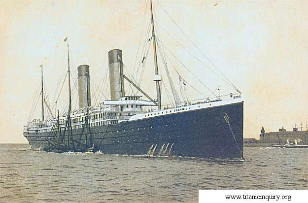 Image of White Star liner Oceanic (White Star Line)