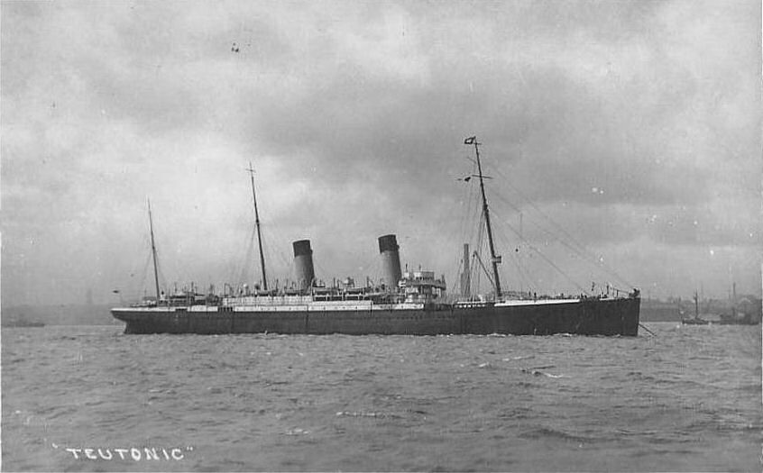 Image of ss Teutonic (White Star Line)